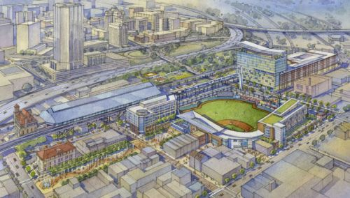 Richmond Flying Squirrels Shockoe Bottom Plan