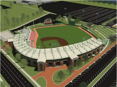 University of Alabama Ballpark Rendering