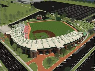 University of Alabama Ballpark Rendering