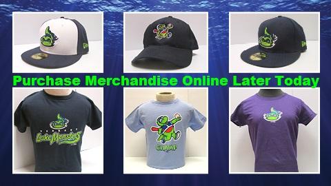 9d6654e3cf4 Vermont Lake Monsters Merchandise