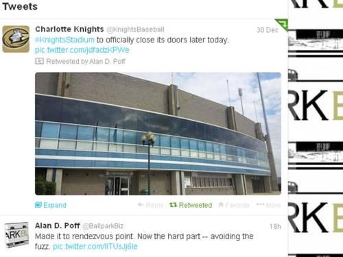 Charlotte Knights Retweet