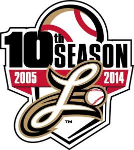 Lancaster Barnstormers 10th Season Logo