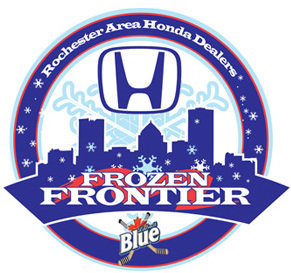 Rochester Red Wings Frozen Frontier Logo