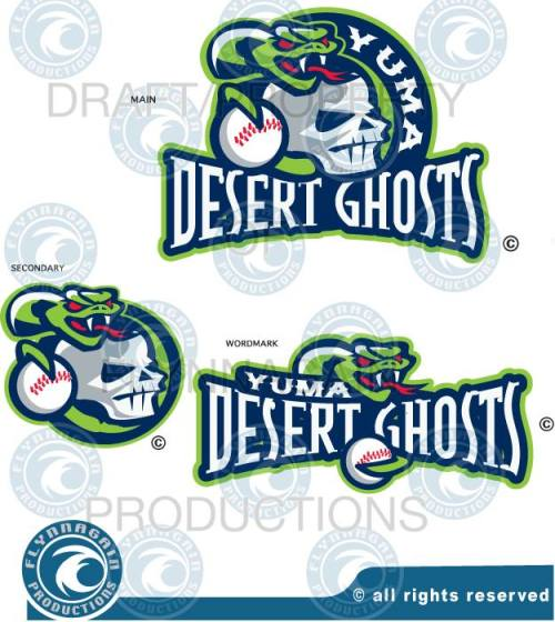 Yuma Desert Ghosts Logos by FlynAgain