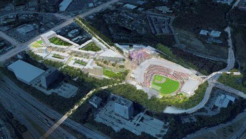Atlanta Braves New Ballpark Rendering