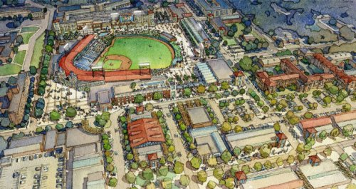 Columbia SC Proposed Stadium Rendering via Harball Capital