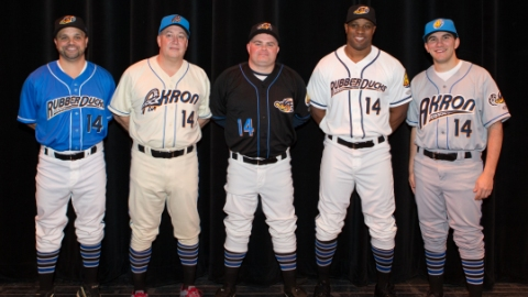 Akron Rubber Ducks Uniforms