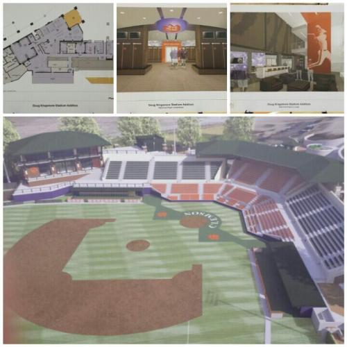 Renderings of improvements, @ClemsonBaseball Twitter