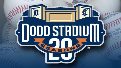 Connecticut Tigers 20th Anniversary Logo