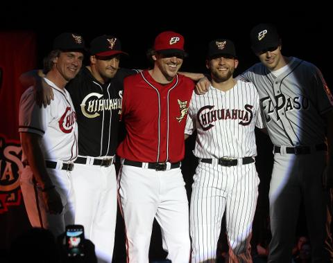 El Paso Chihuahuas Unveil Uniforms