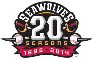 Erie SeaWolves 20th Season Logo