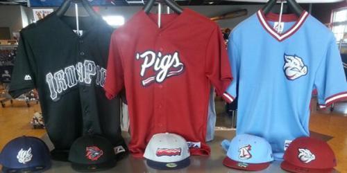 Lehigh Valley IronPigs New Uniforms