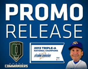 Omaha Storm Chasers 2014 Promo Schedule