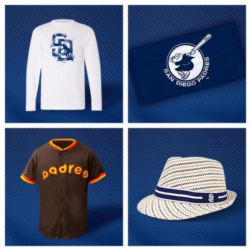 San Diego Padres 2014 promotions from @Padres Twitter