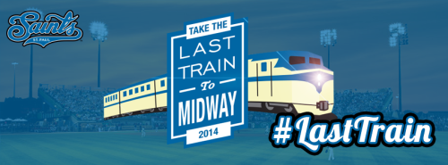 St. Paul Saints Last Train
