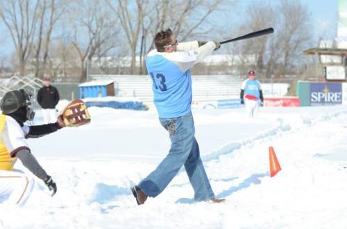 2014 Snowball Classic, St. Paul Saints Facebook photo