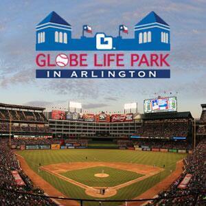 Texas Rangers Globe Life Park