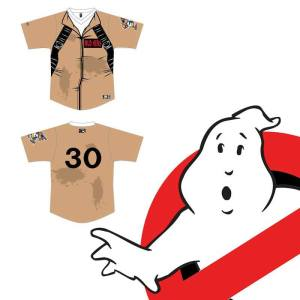 Toledo Mud Hens Ghostbusters 30th Anniversary Night with Jersey