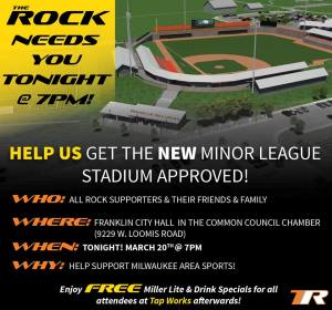 Frankling WI Frontier League Ballpark Proposal from The Rock Sports Complex