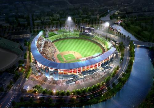 Gwangju-Kia Champions Field Rendering