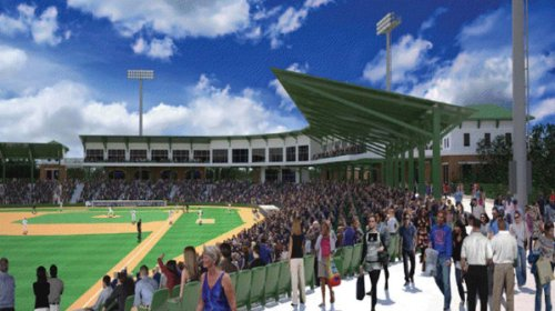 Virginia Beach Ballpark Rendering 3