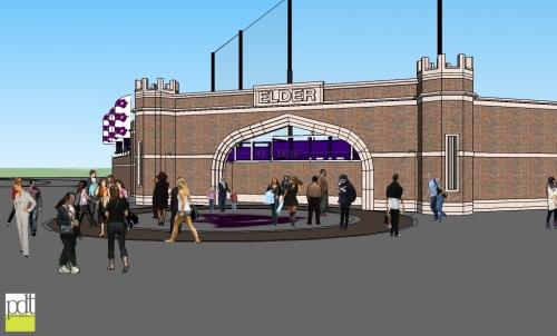 Elder High School Ballpark Rendering