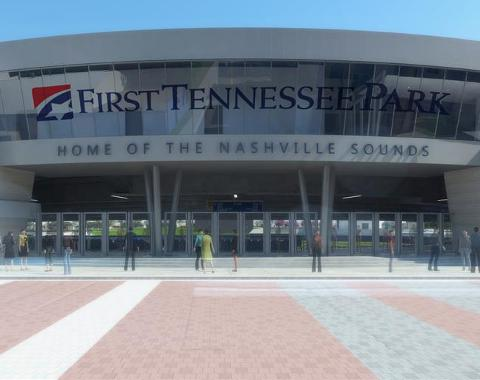Nashville Sounds First Tennessee Park