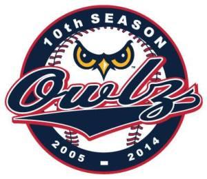 Orem Owlz 10th Anniversary Logo