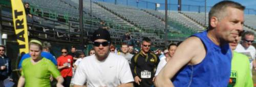 St. Paul Saints Running of the Pigs 2014