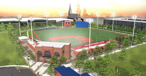 University of Illinois at Chicago New Ballpark Rendering