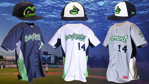 Vermont Lake Monsters 2014 Uniforms