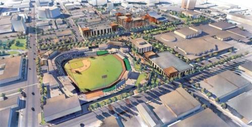Amarillo Ballpark Rendering
