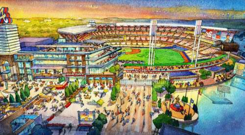 Atlanta Braves Ballpark Rendering