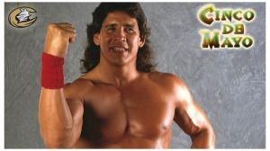 Charlotte Knights WWE Tito Santana Visits for Cinco de Mayo 5.5.14