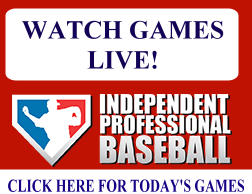Independent Professional Baseball Live from AA Website