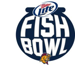 Kenosha Kingfish Fish Bowl Party Deck Logo