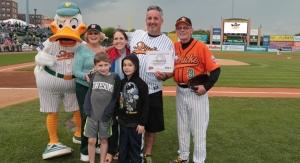 Long Island Ducks Welcom 6 Millionth Fan