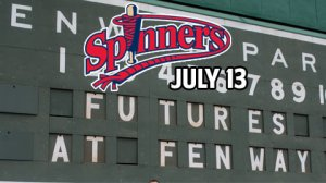 Lowell Spinners Futures at Fenway