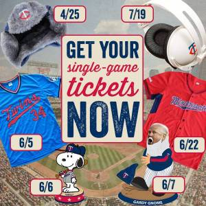 Minnesota Twins 2014 Promos and Giveaways