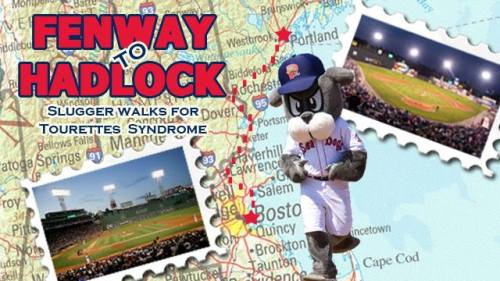 Slugger walks from Fenway to Hadlock, Slugger Facebook page