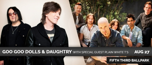 West Michigan Whitecaps Goo Goo Dolls and Daughtry 8.27.14