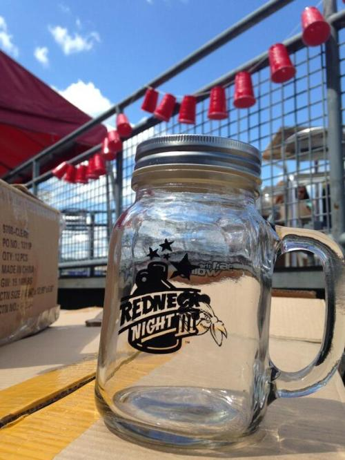 Redneck Night Mason Jar, West Virginia Power Twitter photo