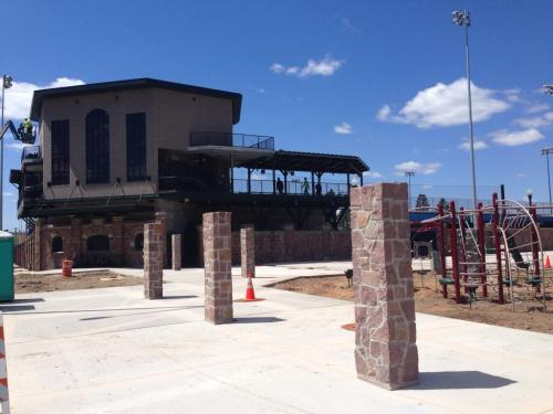 Athletic Park renovations nearing completion, Wisconsin Woodchucks Twitter photo