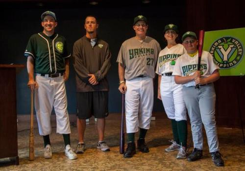 The Yakima Valley Pippins unveil their inaugural uniforms, Pippins Facebook and Twitter photo
