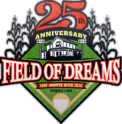 Field of Dreams Movie Site 25th Anniversary Logo