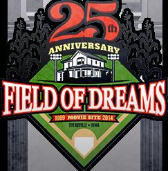 Field of Dreams Movie Site 25th Anniversary Logo