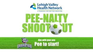 Lehigh Valley IronPigs Pee-Nalty