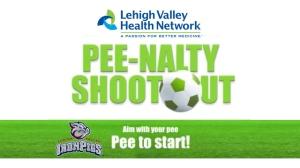 Lehigh Valley IronPigs Pee-Nalty
