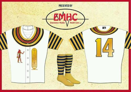 Memphis Redbirds Egyptian Jerseys