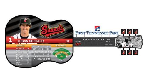 Nashville Sounds New State-of-the-Art Guitar Scoreboard